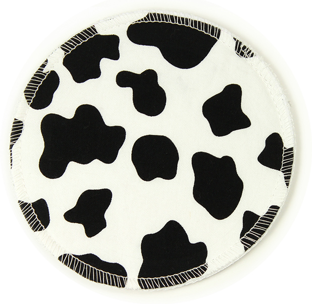 (2 Pairs / 4 Pack) Cow